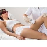 clínicas para depilação a laser Jardim Santo Antônio