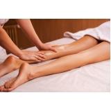 drenagem linfática para as pernas