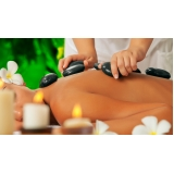 massagem pedras quentes preço Vila Guarani