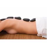 massagem pedras quentes valor Vila Paineiras