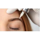 micropigmentação em sobrancelhas valor Jardim Santa Cristina