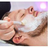 quanto custa limpeza de pele para homens Jardim Inamar