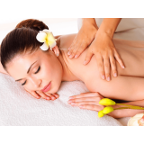 quanto custa massagem completa para noiva Jardim Araguaia