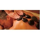 quanto custa massagem pedras quentes Vila Clarice
